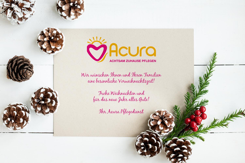 Text Frohe Weihnachten Und Ein Gutes Neues Jahr.Frohe Weihnachten Und Ein Gutes Neues Jahr Acura Pflegedienst
